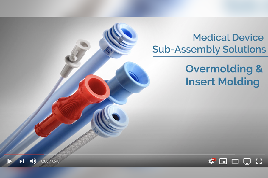 Watch this video to learn more about our overmolding and insert molding capabilities