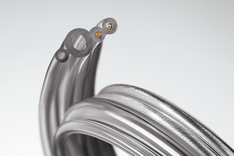An image of specialty medical tubing aiding in a breakthrough medical procedure