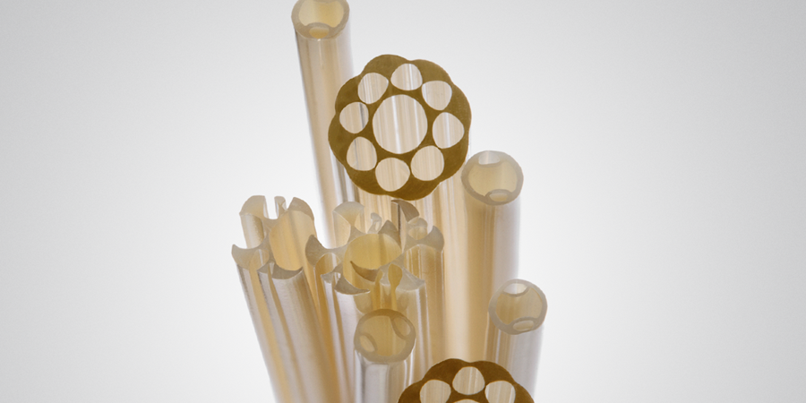 Medical tubing created with PEEK extrusion