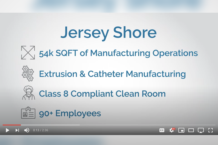 Watch this video to go on a virtual tour of our Jersey Shore facility!